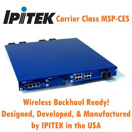 MSP-CES Circuit Emulation Service over Optical Ethernet