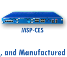 MSP-CES TDM over Ethernet Circuit Emulation 1588v2 Sync-E